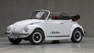 Volkswagen Group develops electric drivetrain for classic Beetle machines!