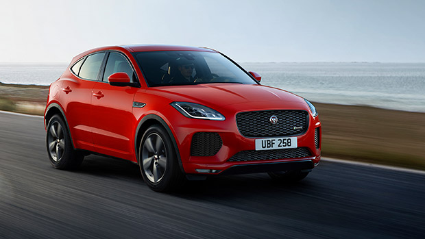 Jag team reveals new E-PACE Checkered Flag Limited Edition lineup