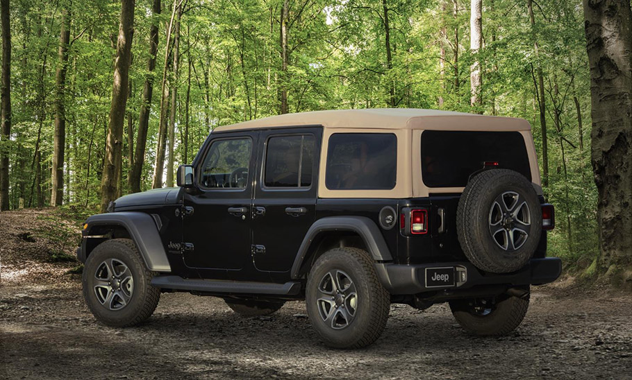 2020 Jeep Wrangler Black & Tan Edition