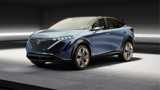 nissan proudly unveils ariya concept at the tokyo motor show