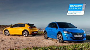 New PEUGEOT 208 is named Car of the Year by carwow!