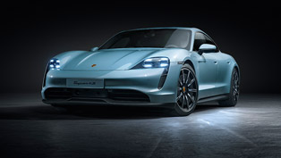 Porsche unveils new electrified Taycan 4S. Check it out!