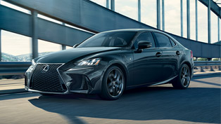 Lexus reveals new 2020 IS F SPORT Blackline edition models. Check 'em out!