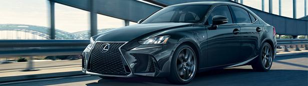 Lexus reveals new 2020 IS F SPORT Blackline edition models. Check 'em out!