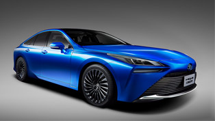 toyota finally reveals details about the second-gen hydrogen mirai machine