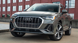 Audi e-tron and Q3 SUVs receive prestigious recognition!