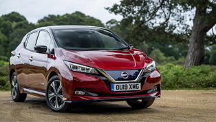 nissan leaf e+ receives two prestigious awards from pocket-lint!