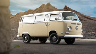 Volkswagen unveils an electrified version of the Type 2 Bus!