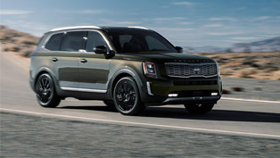 2020 kia telluride wins suv of texas award!