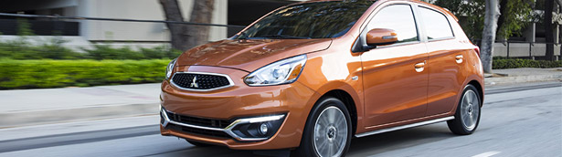 New Mitsubishi Mirage is awarded with 2020 ALG pre-owned value award