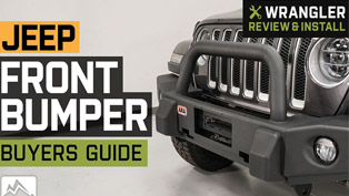 jeep wrangler front bumpers—video