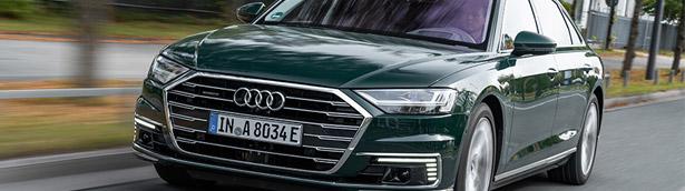 Audi reveals details about new 2020 A8 TFSI e lineup