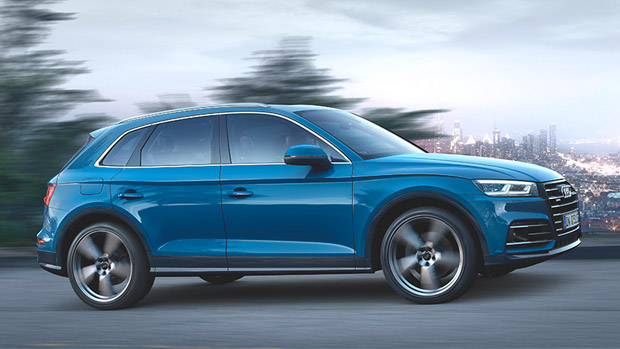 Audi reveals its first hybrid Q5 model. Check it out!