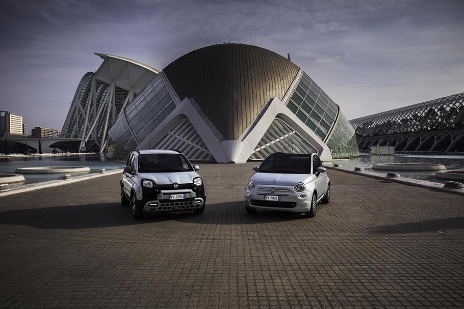 2020 Fiat Panda and 500 Hybrid editions