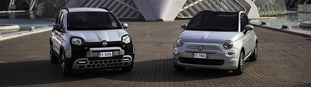 Fiat presents first details about the upcoming 500 and Panda Hybrids!