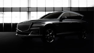 Genesis team reveals first official images of the GV80 SUV