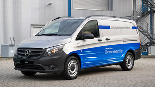 Mercedes-Benz presents a new lineup of eVITO vans. Check 'em out!