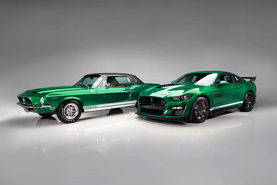 2020 Mustang Shelby Little Red and Green Hornet