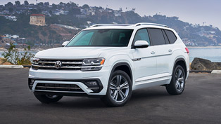 2020 VW Atlas is named Family Car of the Year. Details here!