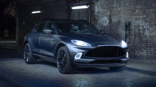 Aston Martin presents a DBX tweaked by brand's high-end design studio