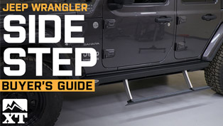 Jeep Wrangler Side Step Buyer's Guide (VIDEO)