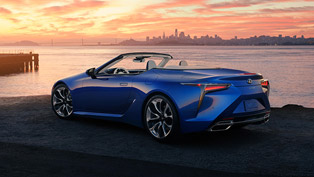 Lexus showcases new 2021 LC 500 Cabriolet at the Los Angeles show