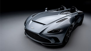 Aston Martin reveals new V12 Speedster - brand's advanced new sportscar!