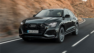 Audi presents new RS Q8 SUV - brand's aggressive and yet convenient SUV!