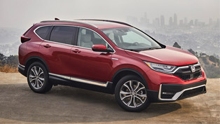 2020 cr-v hybrid has earned the top safety pick award by iihs!