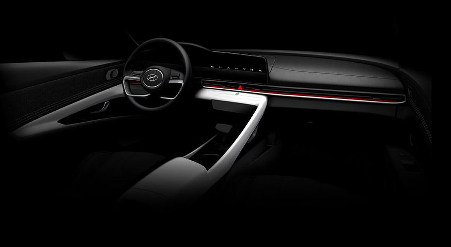 2020 Hyundai Elantra Sketches