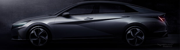 Hyundai reveals first images of the new 2020 Elantra model!