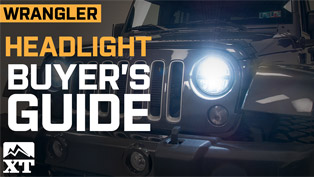 jeep wrangler headlight buyer's guide (video)