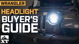 Jeep Wrangler Headlight Buyer's Guide (VIDEO)