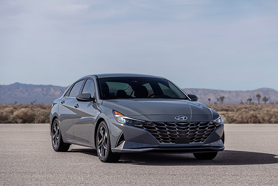 Hyundai releases first images of the new 2021 Elantra ...