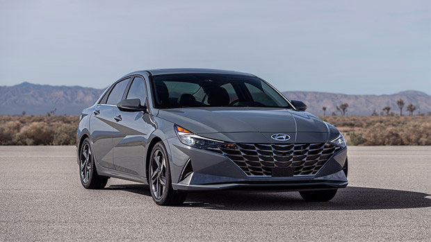 Hyundai releases first images of the new 2021 Elantra Hybrid! Check 'em out!