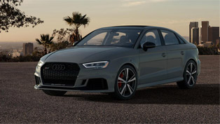 Audi presents new RS 3 Nardo Special Edition lineup!