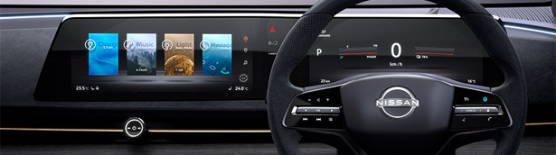 Nissan engineers switch to a dual-display system. Here are details!