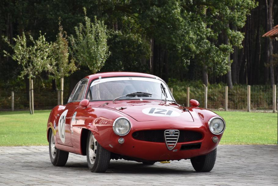 1960 Alfa-Romeo Giulietta Sprint Speciale