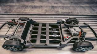 karma autmotive reveals new electric e-flex platform
