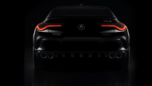 acura reveals the first image of the upcoming txl sports sedan