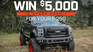 Win a $5000 Shopping Spree from Mammoth 4x4
