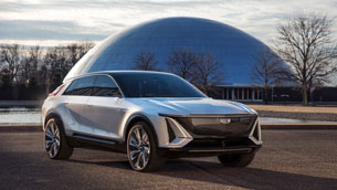 Lyriq show car leads Cadillac into electric future