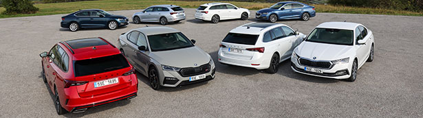 Mild hybrid, plug-in hybrid: new powertrain variants for the Škoda Octavia