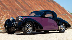 unique bugatti type 57 atalante leads coachbuilt collection at concours of elegance