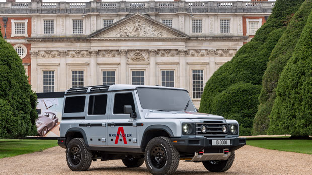 INEOS Grenadier prototype takes a bow to its inspirations at Concours of elegance