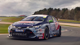 Toyota Gazoo racing uk BTCC team benefits from D2H advanced technologies' aerodynamics expertise