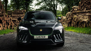 The Lister motor company unveils the stealth –Britain's fastest and most powerful SUV