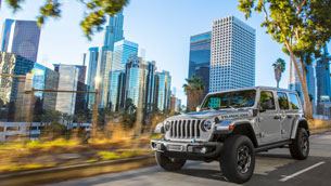 new jeep® wrangler 4xe joins renegade and compass 4xe models in brand's global electric vehicle lineup
