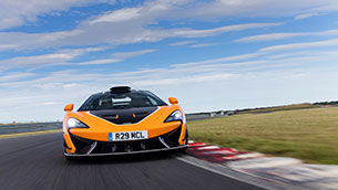 McLaren 620R intensified with R pack from McLaren special operations available for Europe, middle east and Africa