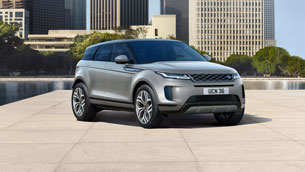 New electrified Range Rover EVOQUE autobiography: the most luxurious and connected compact SUV